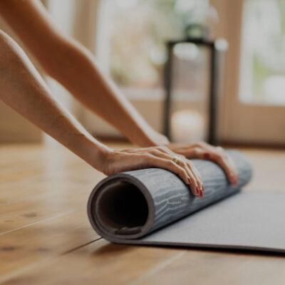 Yoga at studio